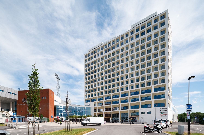 Kontorshotell i Göteborg, Åby Arena.